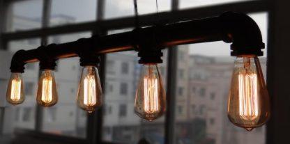 Water Pipe Pendant Light Industrial Lightings