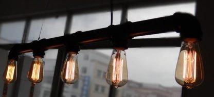 Water Pipe Pendant Light Kitchen Island lights