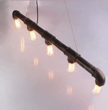 Water Pipe Pendant Light Restaurant lights
