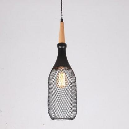 Addolgar Scandinavian Design Modern Woven Metal Pendant Lamp pantry lighting