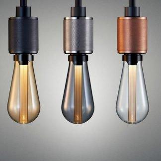 Adhelle Vintage Industrial Metallic Bulb Holder Pendant Light