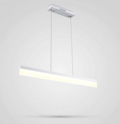 Calixte Contemporary Ultra Thin Rectangular Pendant Light Kitchen light