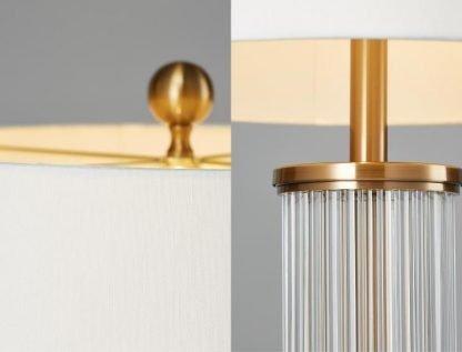Edda Elegant Classical Drum Shaped Table Lamp Living Room lights