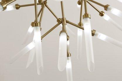 Fadyenka Modular Fireflies Sputnik Modern Linear Golden Pendant Light
