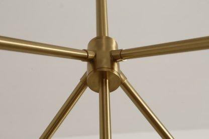 Fadyenka Modular Fireflies Sputnik Modern Linear Luxury Gold Pendant Light