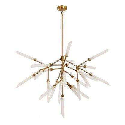 Fadyenka Modular Fireflies Sputnik Modern Linear Pendant Light