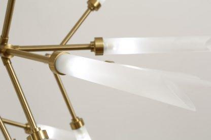 Fadyenka Modular Fireflies Sputnik Modern Linear Pendant Light Luxury