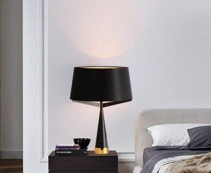 Kadmus Classic Designed Drum Shaped Bedroom Table Lamp