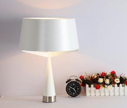 Kadmus Classic Designed Drum Shaped Elegant Dining Room Table Lamp