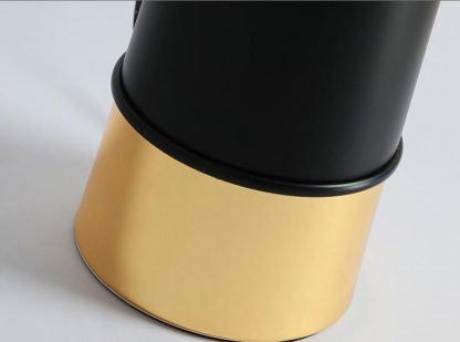 Kadmus Classic Designed Drum Shaped Golden Accent Dining Room Table Lamp