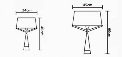 Kadmus Classic Designed Drum Shaped Living Room Table Lamp
