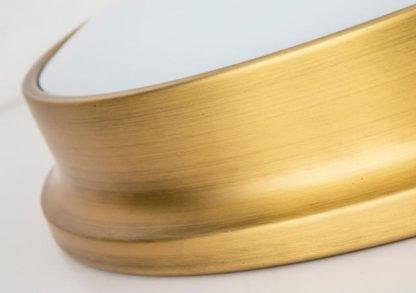 Laec Contemporary Round Gold Drum Shape Minimalist Ceiling Mount
