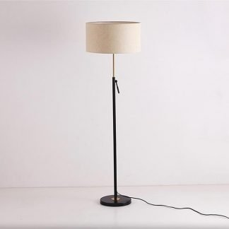 Lamonte Superior Drum Shaped Tasteful Living Room Floor Lamp
