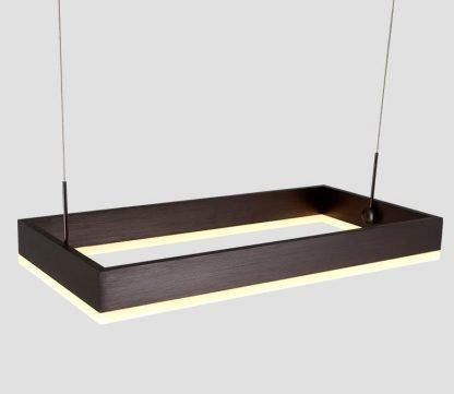Nalren Modern Geometric Gorgeous Rectangular Beautiful Pendant Light
