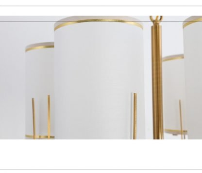 Oakden Contemporary Gold Finished Tail Stunning Chic Golden Design Chandelier