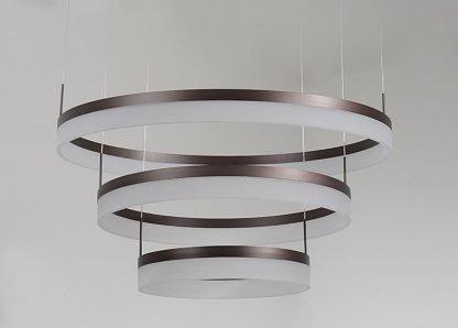 Oddfrid Contemporary Design Geometric Chic Golden Circle Pendant Light