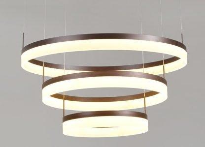 Oddfrid Contemporary Geometric Chic Golden Circle Luxury Pendant Light