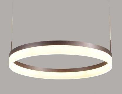 Oddfrid Contemporary Geometric Chic Golden Circle Pendant Light office lighting