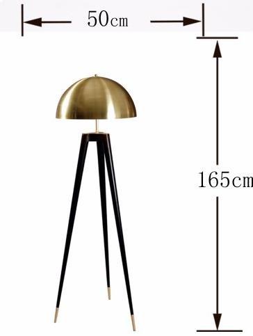 Paliki Elegant Luxury Satellite Tripod Black Floor Lamp