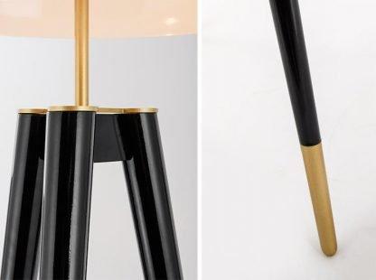 Paliki Elegant Luxury Satellite Tripod Chic Dining Room Floor Lamp