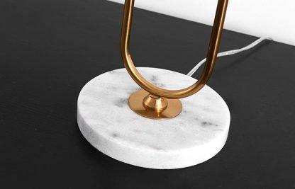 Aart Graceful Oversized Linen Drum Shaped Table Lamp Bedside lights