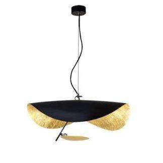 Abri Contemporary Flying Saucer Metal Pendant Light