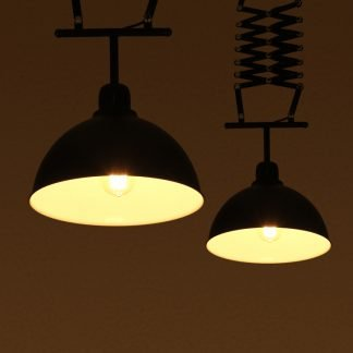 Adalbeorht Industrial Extendable Pendant Light