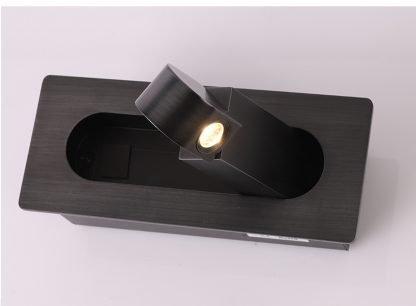 Averyll Minimalist Handle Shaped Wall Lamp Hall lights