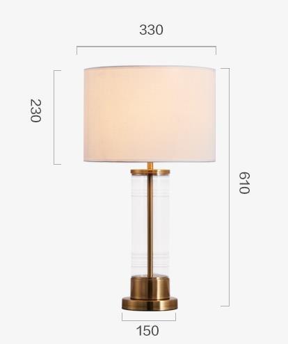 Babs Modern Classic Bespoke Lampshade Table Lamp Modern lights