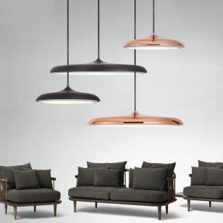Bainhrydge Modern Flying Saucer Shaped Pendant Light