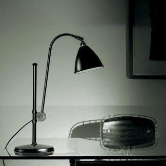 Borghild Modern Adjustable Head Reading Table Lamp