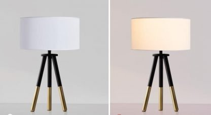 Cabal Contemporary Chic Design Tripod Table Lamp Nordic lights