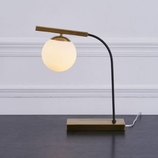 Cabe Minimalist Modern Industrial Design Table Lamp