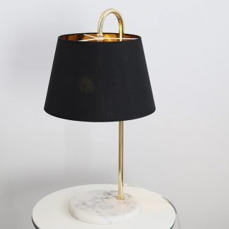 Caerleon Retro Modern Antique Marble Table Lamp
