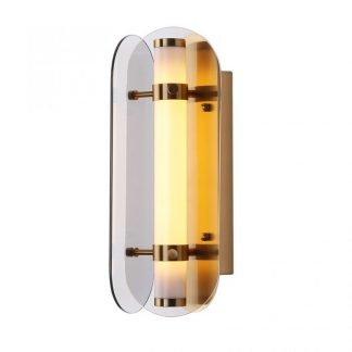 Celandia Industrial Art-Deco Tubular Shaped Wall Lamp