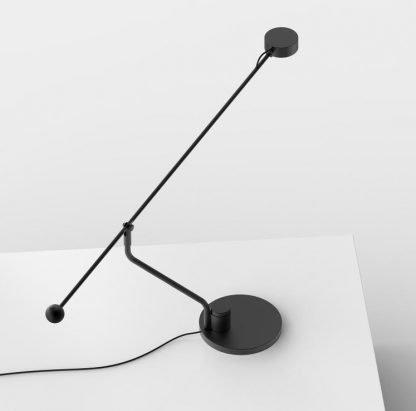 Crisiant Minimalist Adjustable Black Table Lamp Office lights