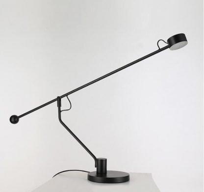 Crisiant Minimalist Adjustable Black Table Lamp Workplace lights
