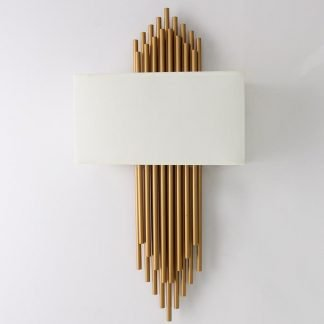 Dagny Luxury Gold Archery Arrow Wall Lamp