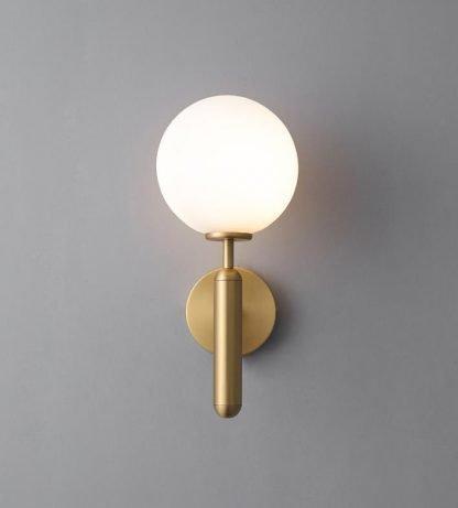 Delray Elegant Impressive Spherical Glass Wall Lamp Office lights