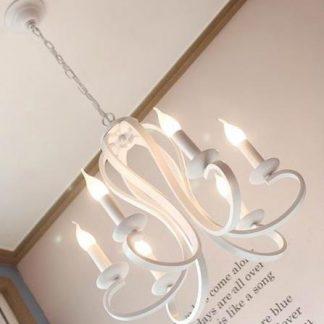 Dorette Victorian Luxury Elegant Candle Chandelier Light
