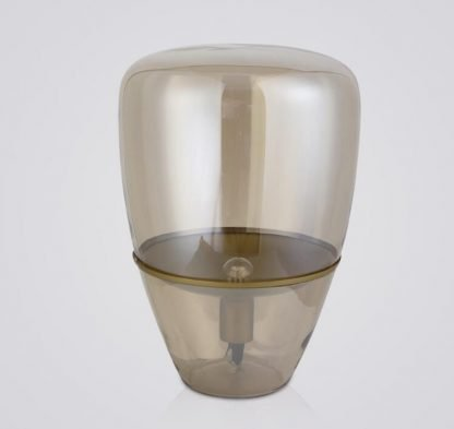 Dugal Glorious Cylindrical Glass Table Lamp Dining Room lights