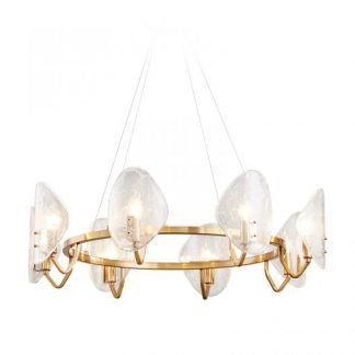 Dylan Chic Decorative Glass Heads Chandelier Light