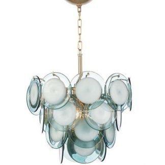 Dyllis Contemporary Adorable Glass Pendant Light