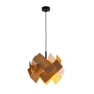 Eadaion Geometrical Shape Scraggly Sheets Pendant Light
