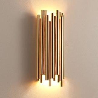 Eadoin Glam Flute Musical Instrument Wall Lamp