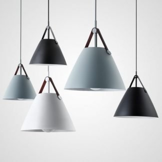 Feichin Scandinavian Cone Shaped Pendant Light