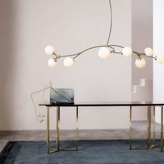 Fernley Elegant Tree Branch Globe Pendant Light