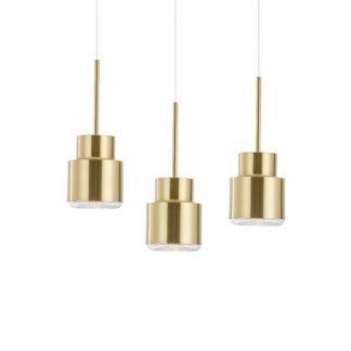 Gaarwine Nordic Minimalist Cylindrical Shade Pendant Light