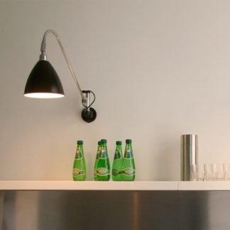 Geomar Nordic Adjustable Conical Head Wall Lamp
