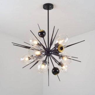 Haestingas Modern Glam Sparking Star Chandelier Light